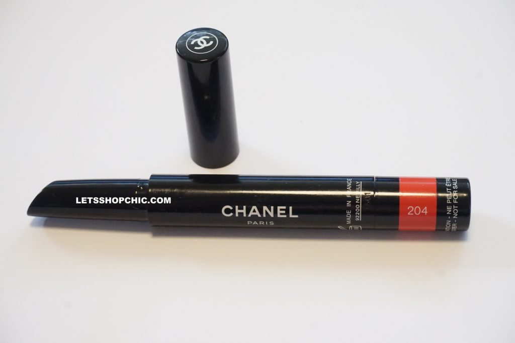 Chanel Rouge Coco Stylo Lipstick 204 Article packaging