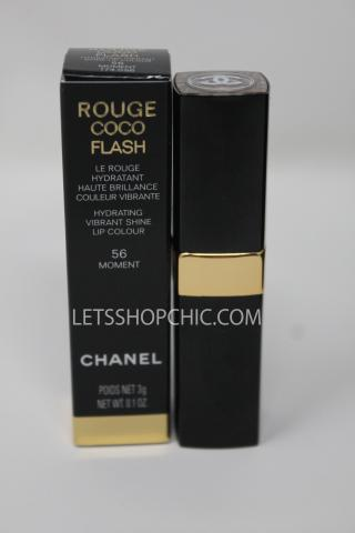 Chanel rouge coco flash lipstick 56 moment packaging