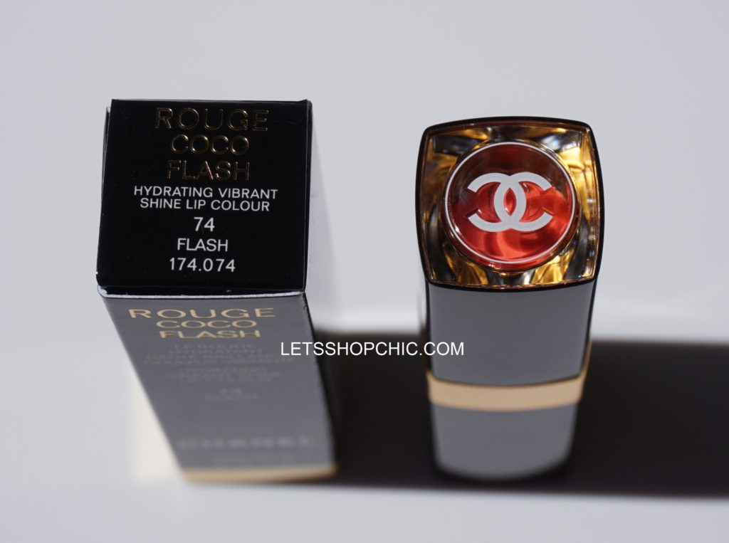 Chanel Rouge Coco Flash Lipstick 74 Flash cup