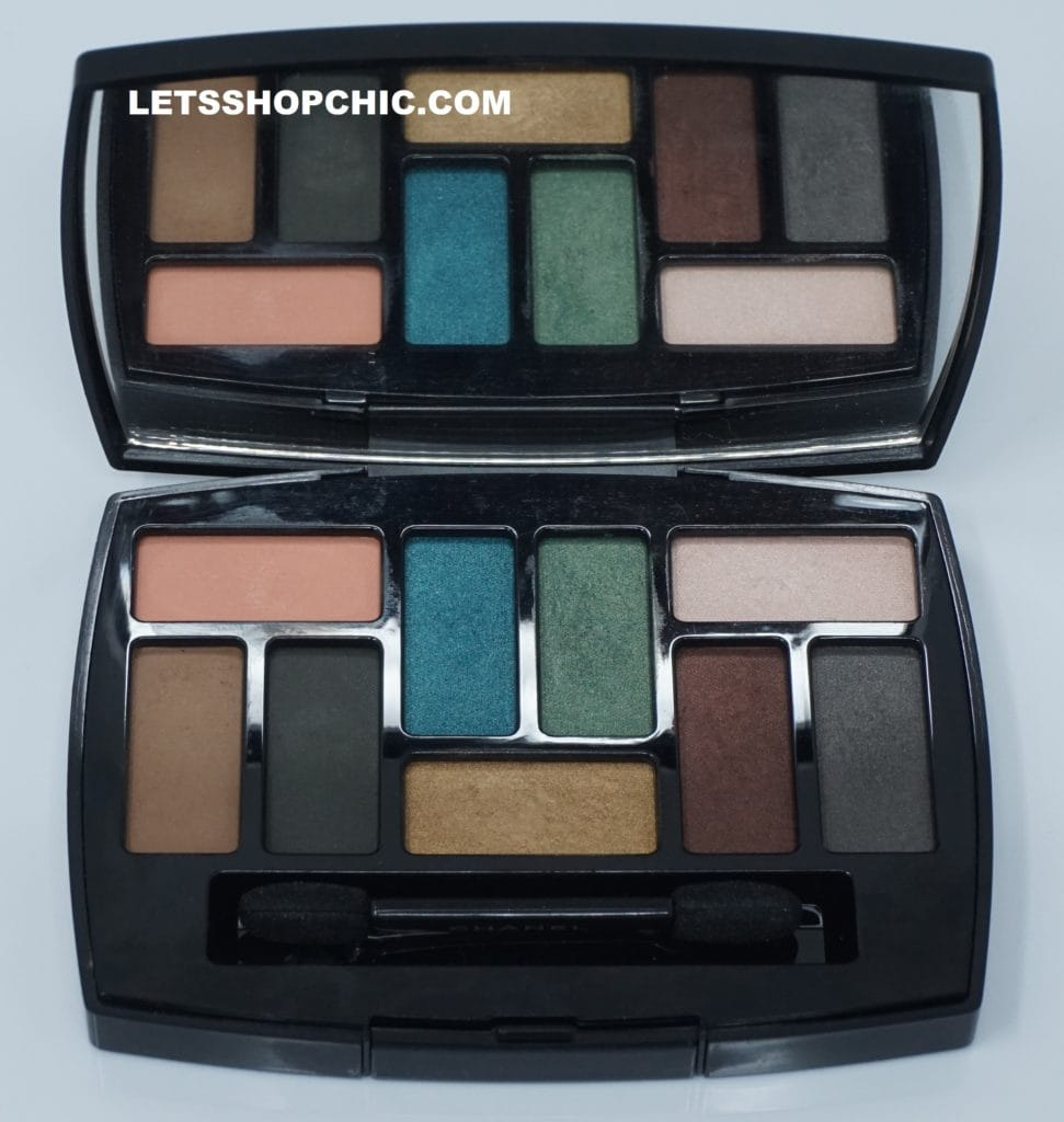 Chanel Les 9 Ombres Eyeshadow Palette Edition #1 - Affresco