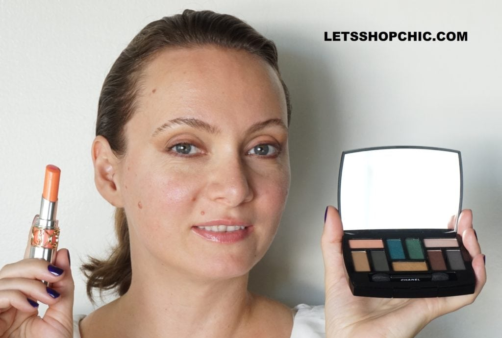 Chanel Les 9 Ombres Eyeshadow Palette Edition #1 - Affresco on eyes