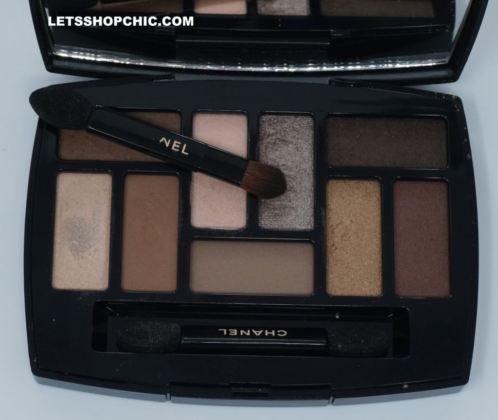 Chanel Les Beiges Natural Eyeshadow Collection Les Indispensables colors