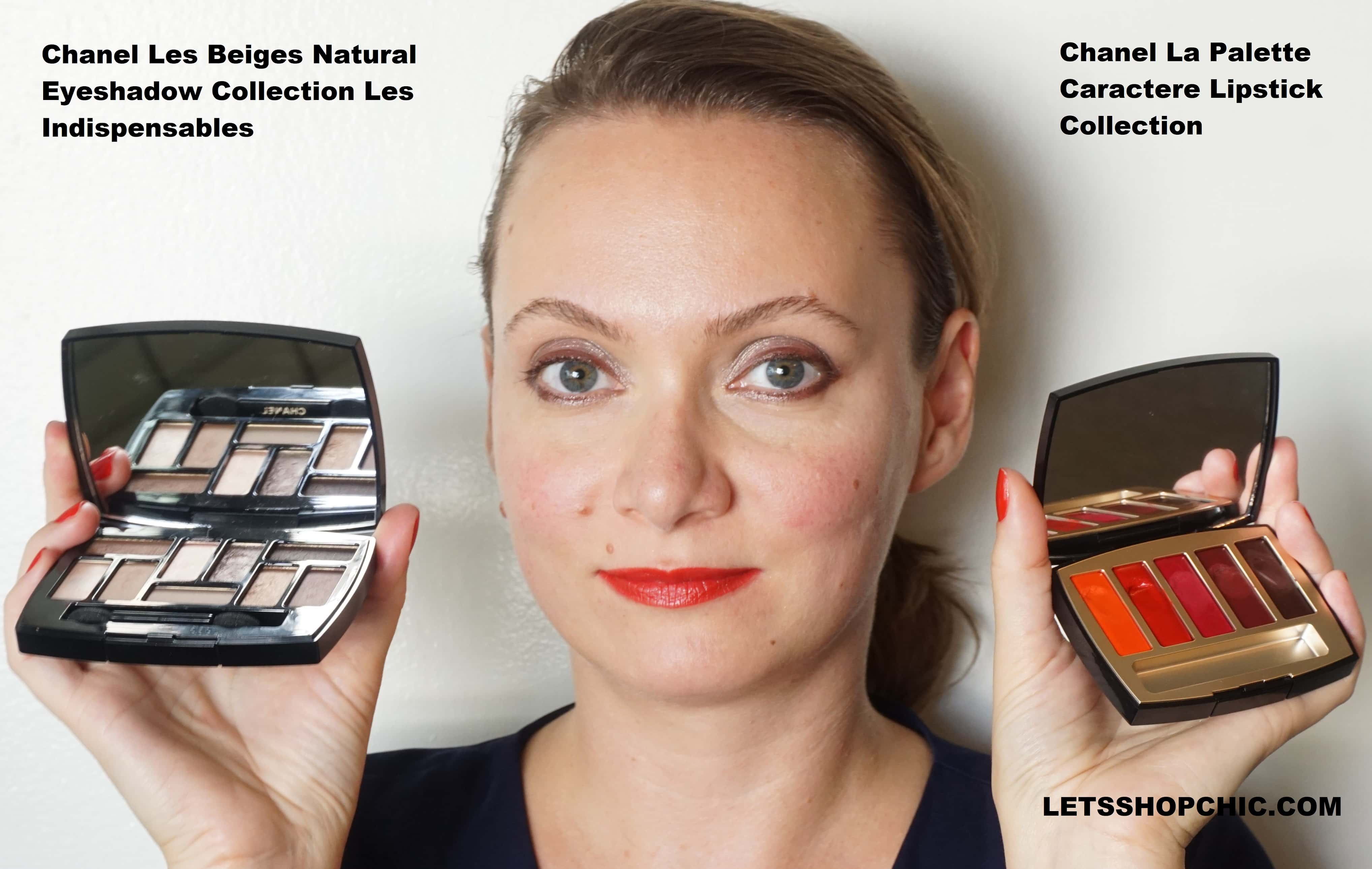 Chanel Les beiges Natural Eyeshadow Collection Les Indispensables