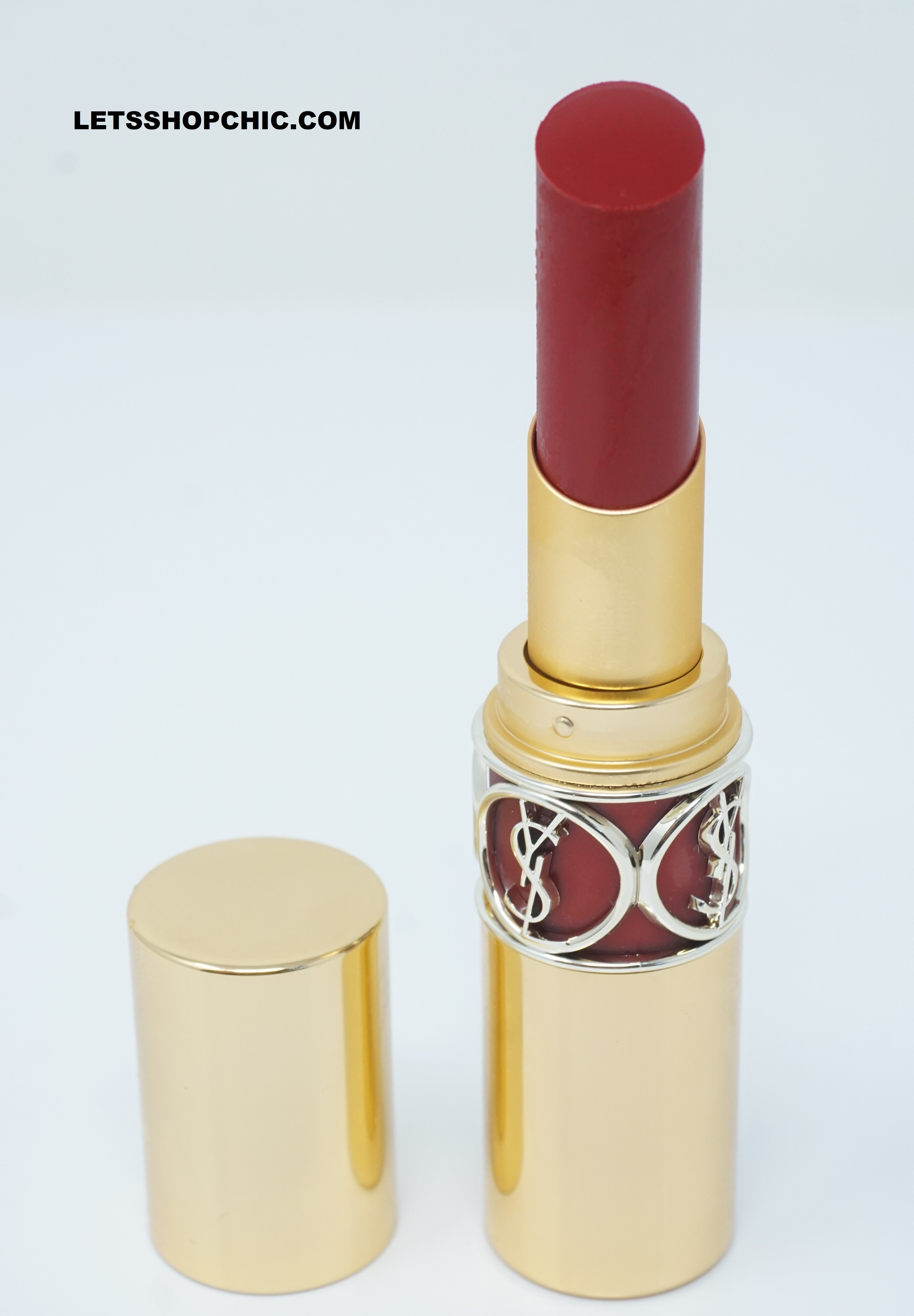 YSL Yves Saint Laurent Rouge Volupte Shine Oil-in-Stick Lipstick 92 Rouge Caftan