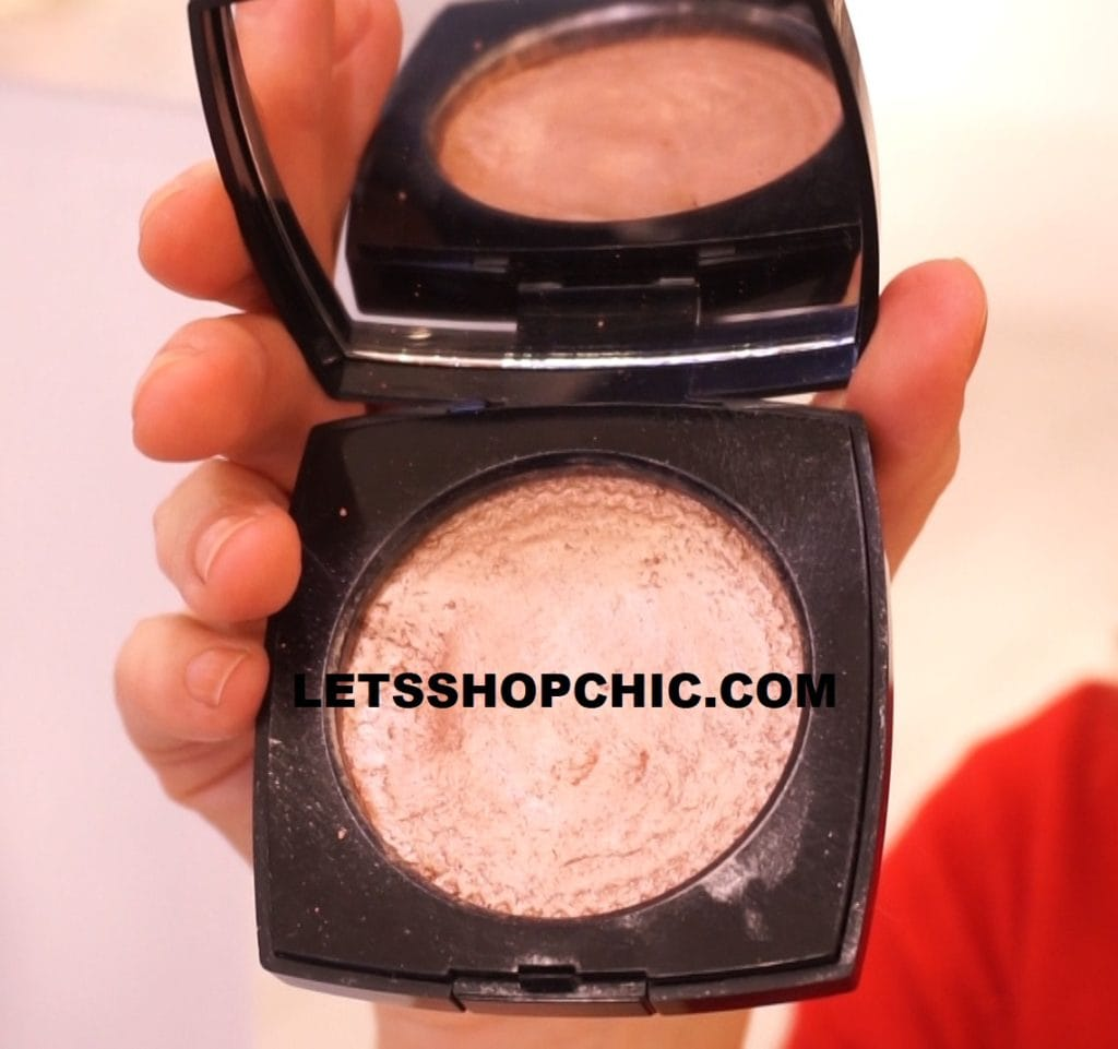 2019 Chanel Highlighter Eclat Magnétique de Chanel in Metal Peach