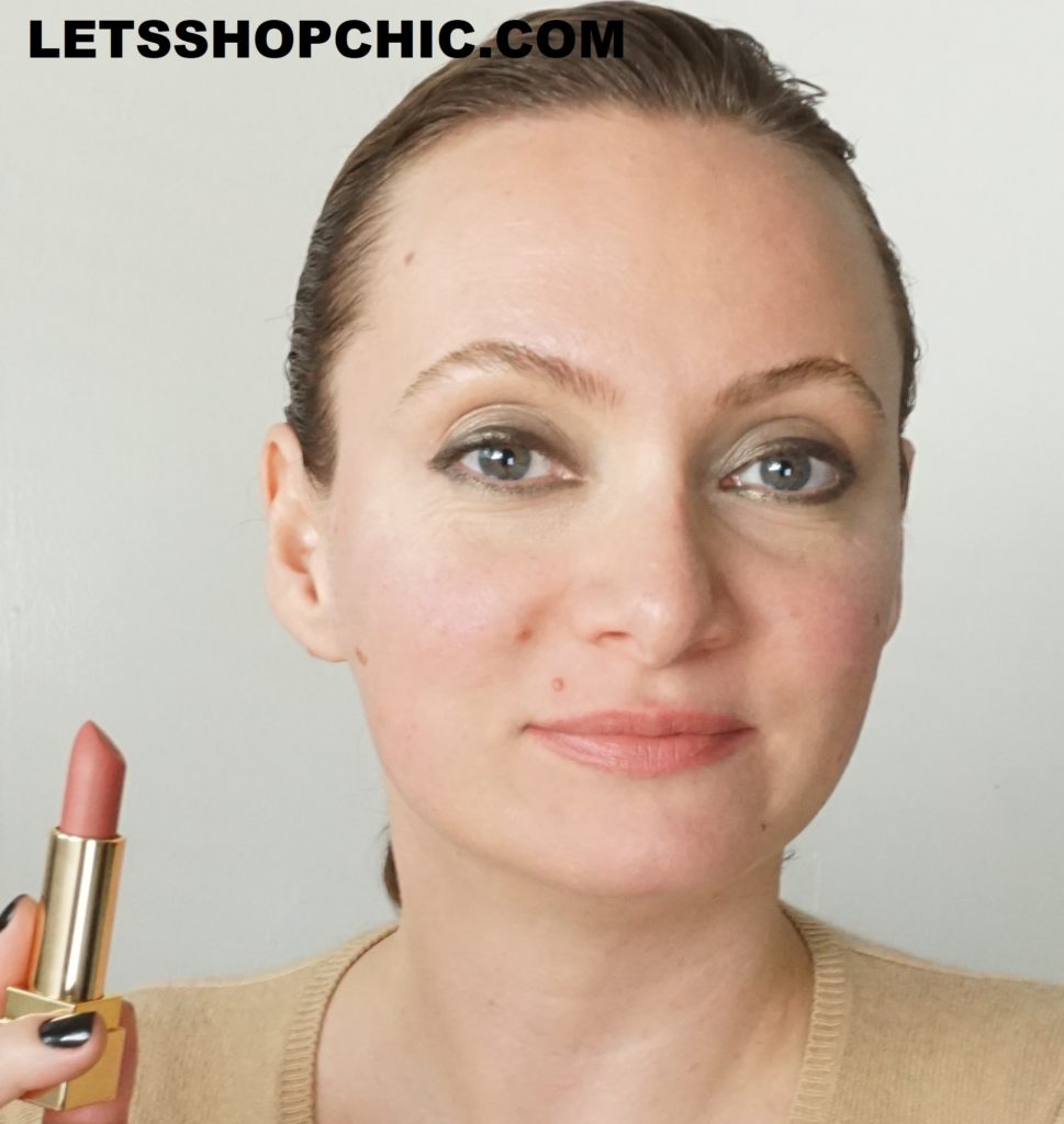 YSL Yves Saint Laurent Rouge Pur Couture The Mats Lipstick 218 Coral Remix lips