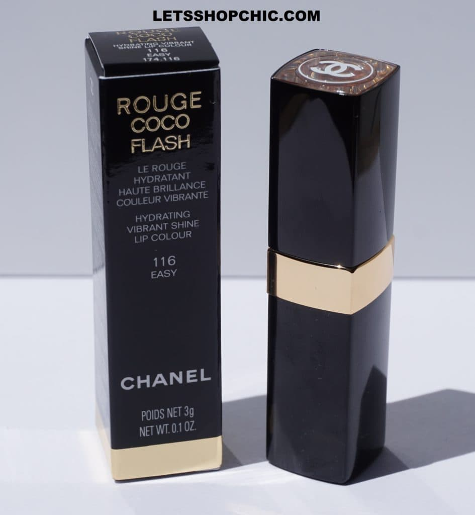Chanel Rouge Coco Flash Lipstick 116 Easy packaging