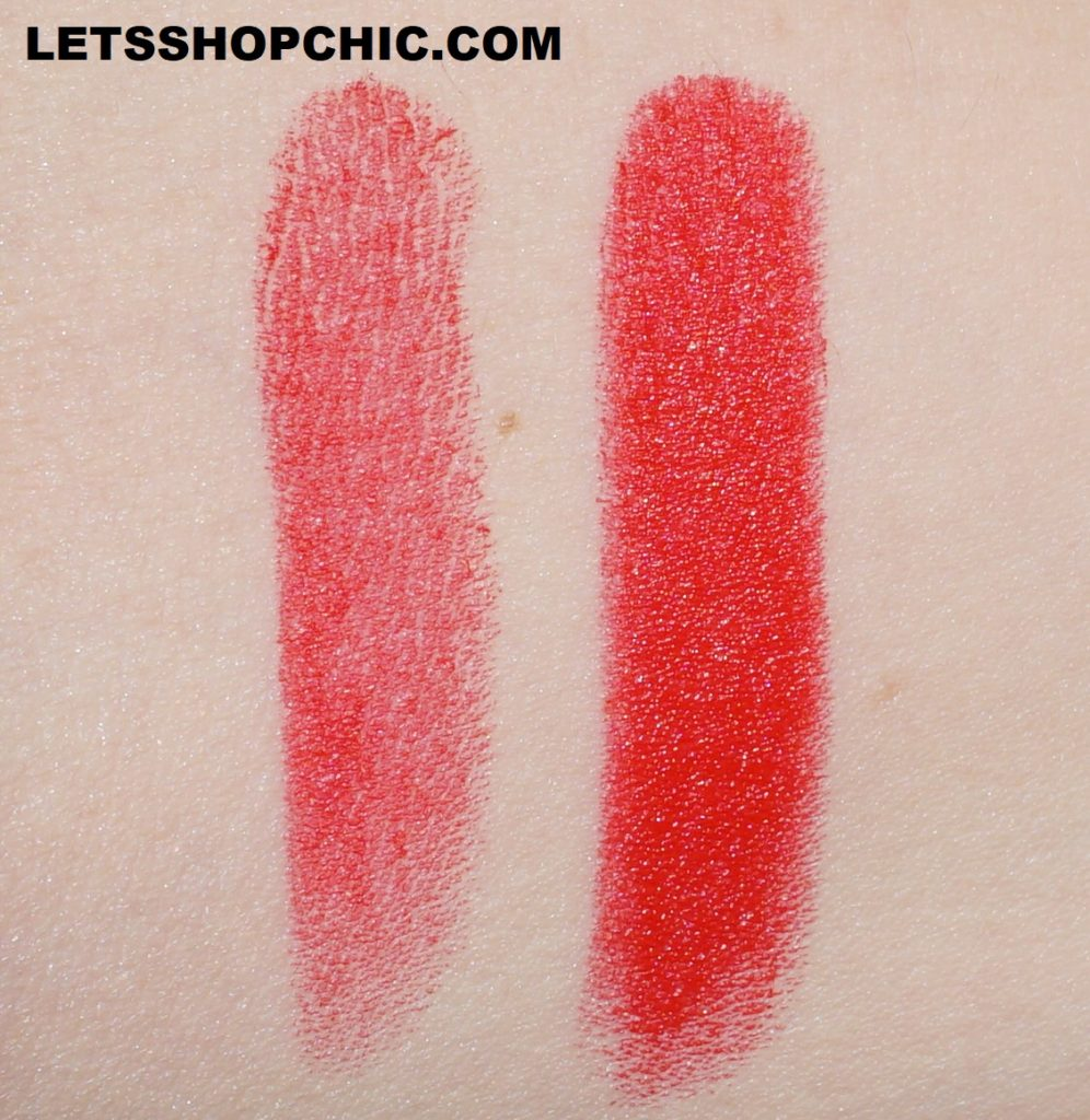 Chanel Rouge Allure Velvet Lipstick 257 Rouge Triomphal swatch