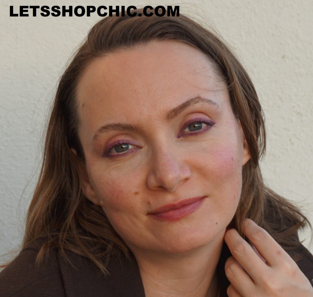 Chanel Rouge Allure Laque 63 Ultimate on lips